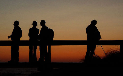 Beautiful Silhouettes of People