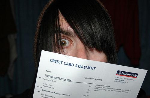 freaky credit card bill