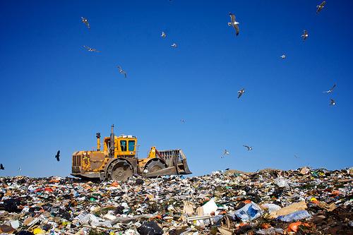 landfill tractor