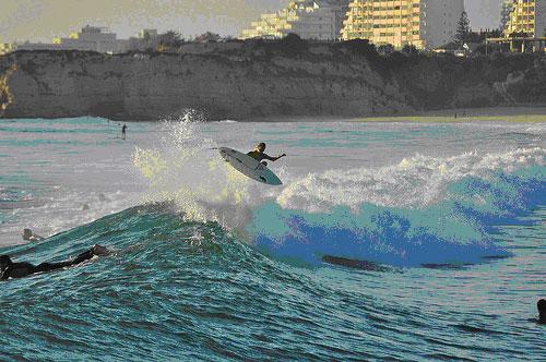 surfing - beach