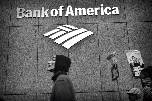 bank of america - occupy wall street