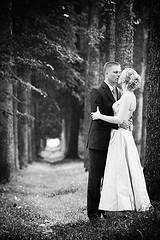 wedding black & white